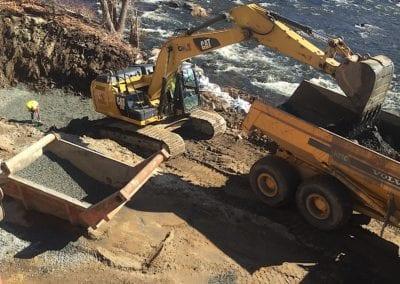 escavator-truck